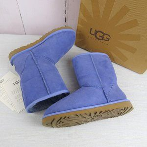 UGG Australia Classic Short Blue Boots Size 6